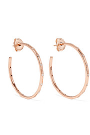 Ippolita Glamazon® Stardust 18-karat rose gold diamond earrings