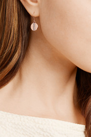 Ippolita Senso® Stardust 18-karat rose gold diamond earrings