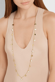 Ippolita Glamazon® Paillette 18-karat gold diamond necklace