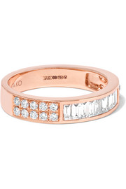 Anita Ko 18-karat rose gold diamond ring