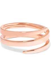 Anita Ko Coil 18-karat rose gold pinky ring