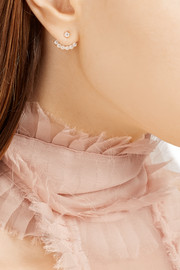 Anita Ko 18-karat rose gold diamond earring