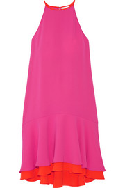 Kera layered crepe dress