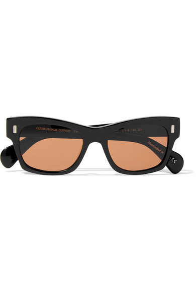 9089fabf034 Oliver Peoples. + The Row 71st Street wayfarer-style acetate sunglasses