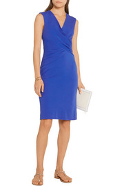 Diane von Furstenberg Leora wrap-effect stretch-crepe dress