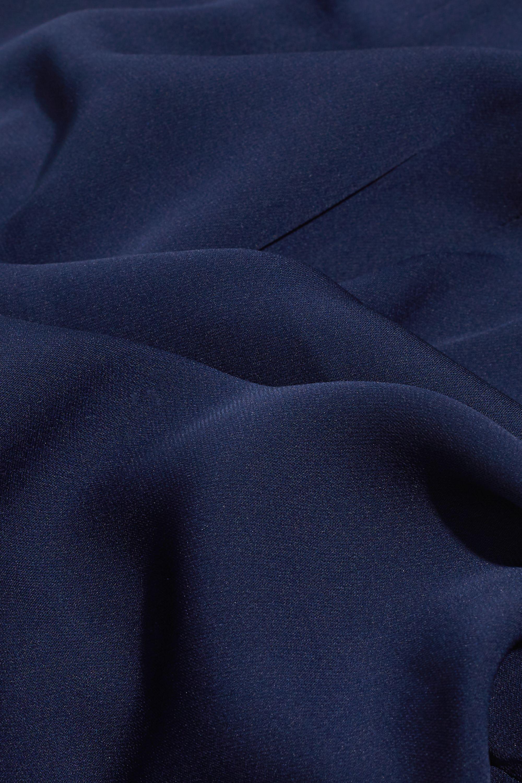 Diane von Furstenberg Katara stretch-silk crepe flared pants