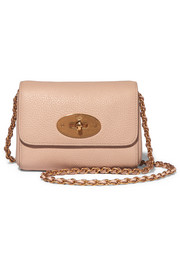 Mulberry Lily mini textured-leather shoulder bag