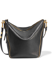 Camden textured-leather shoulder bag