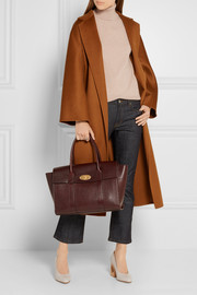 Mulberry The Bayswater textured-leather tote