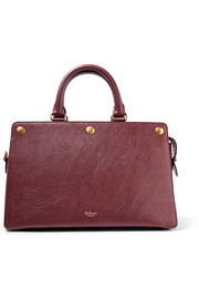Chester textured-leather tote