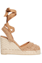 Cala fringed canvas espadrilles