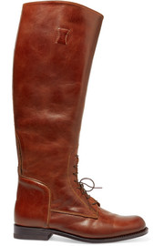 Palencia lace-up leather riding boots