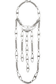 Loire silver-plated necklace