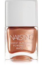 Sweet Almonds Powered by Matcha Nail Polish - Mayfair Market Mews
