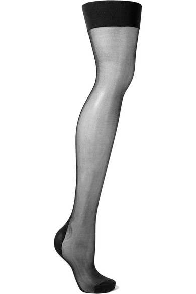 Agent Provocateur - Seamed 15 Denier Stockings - Black