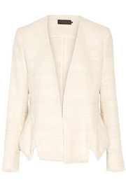 Tabitha cotton-blend tweed blazer