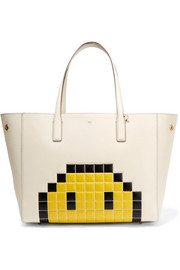 Anya Hindmarch Ebury embossed textured-leather tote