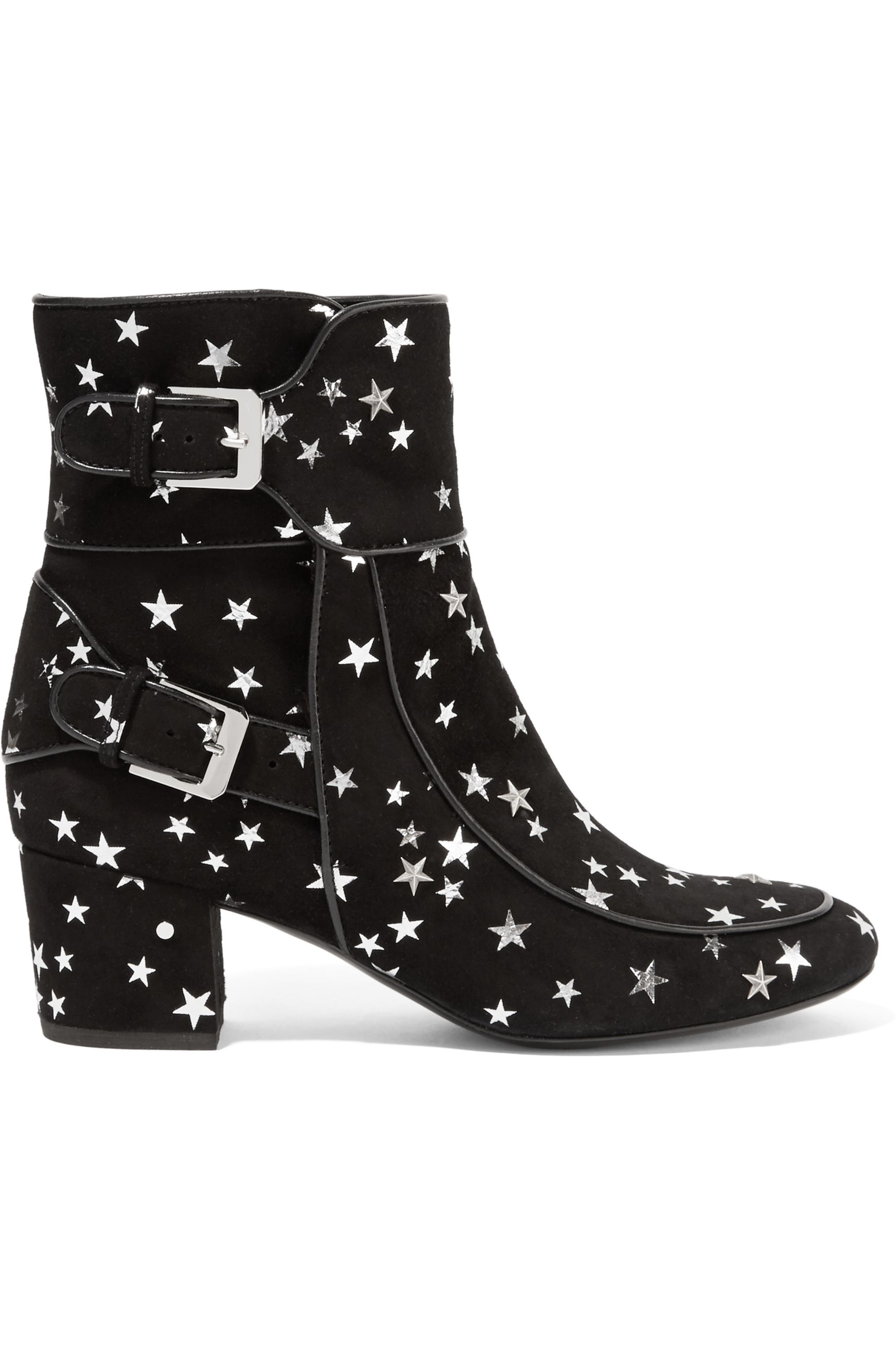 Laurence Dacade Babacar embellished suede ankle boots