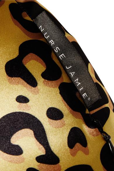 Nurse Jamie Beauty Bear Age Delay Pillow Leopard