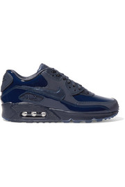 Nike x Pedro Lourenço Air Max 90 patent-trimmed leather sneakers