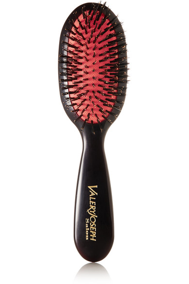 LONG BY VALERY JOSEPH TRAVEL BOAR BRISTLE HAIRBRUSH - COLORLESS