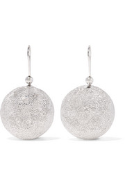 Carolina Bucci Mirador 18-karat white gold earrings