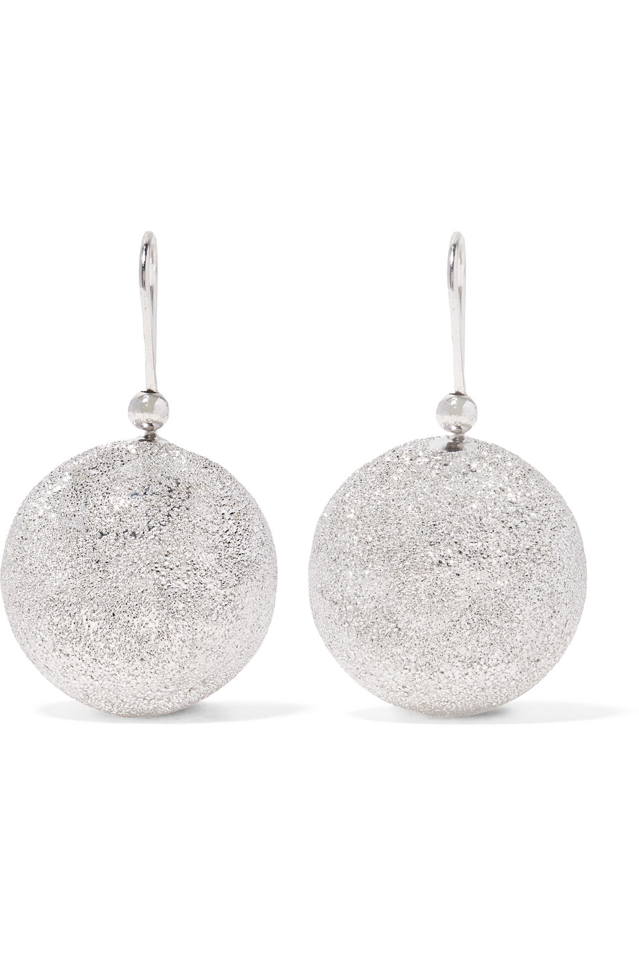 Carolina Bucci Mirador 18-Karat White Gold Earrings, Women's