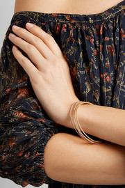 Carolina Bucci Mirador set of five 18-karat gold bangles