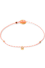 Carnival gold-plated diamond bracelet