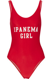 Ipanema Girl printed swimsuit
