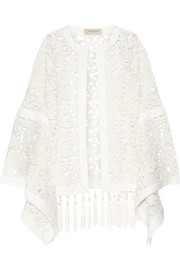 Guipure lace coverup