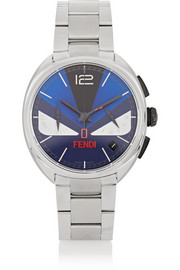 Fendi Momento Bugs stainless steel watch
