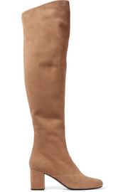BB suede over-the-knee boots