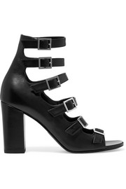 Saint Laurent Babies buckled leather sandals