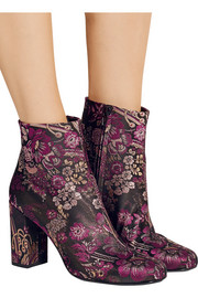 Saint Laurent Babies brocade ankle boots