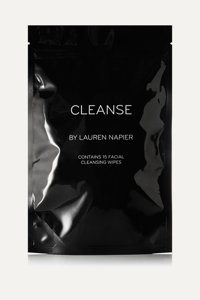 CLEANSE BY LAUREN NAPIER FACIAL CLEANSING WIPES X 15 - ONE SIZE