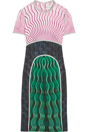 Mary Katrantzou Vitriol printed crepe dress