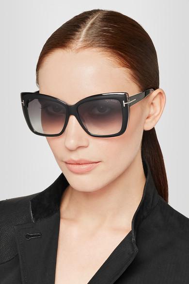 61faaa7cbd TOM FORD. Irina square-frame acetate sunglasses