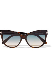 Lily cat-eye acetate sunglasses