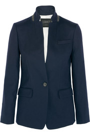 Regent stretch-wool blazer