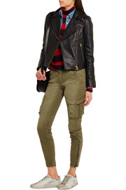 J.Crew Leather biker jacket