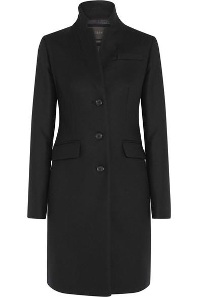 J.Crew - Regent Wool Coat - Black