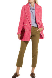 J.Crew Coco double-breasted tweed coat