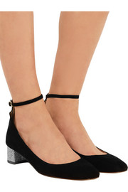 Evelyn suede pumps