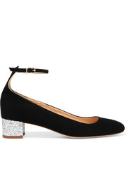 J.Crew Evelyn suede pumps