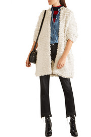 J.Crew Bouclé-knit coat