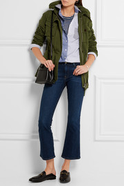 J.Crew Hooded cotton-canvas field jacket