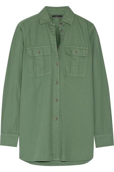 J.Crew - Cotton Shirt - Army green