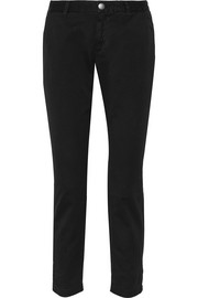 Current/Elliott The Buddy cotton-twill tapered pants