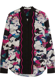 Mary Katrantzou Mica printed silk crepe de chine blouse